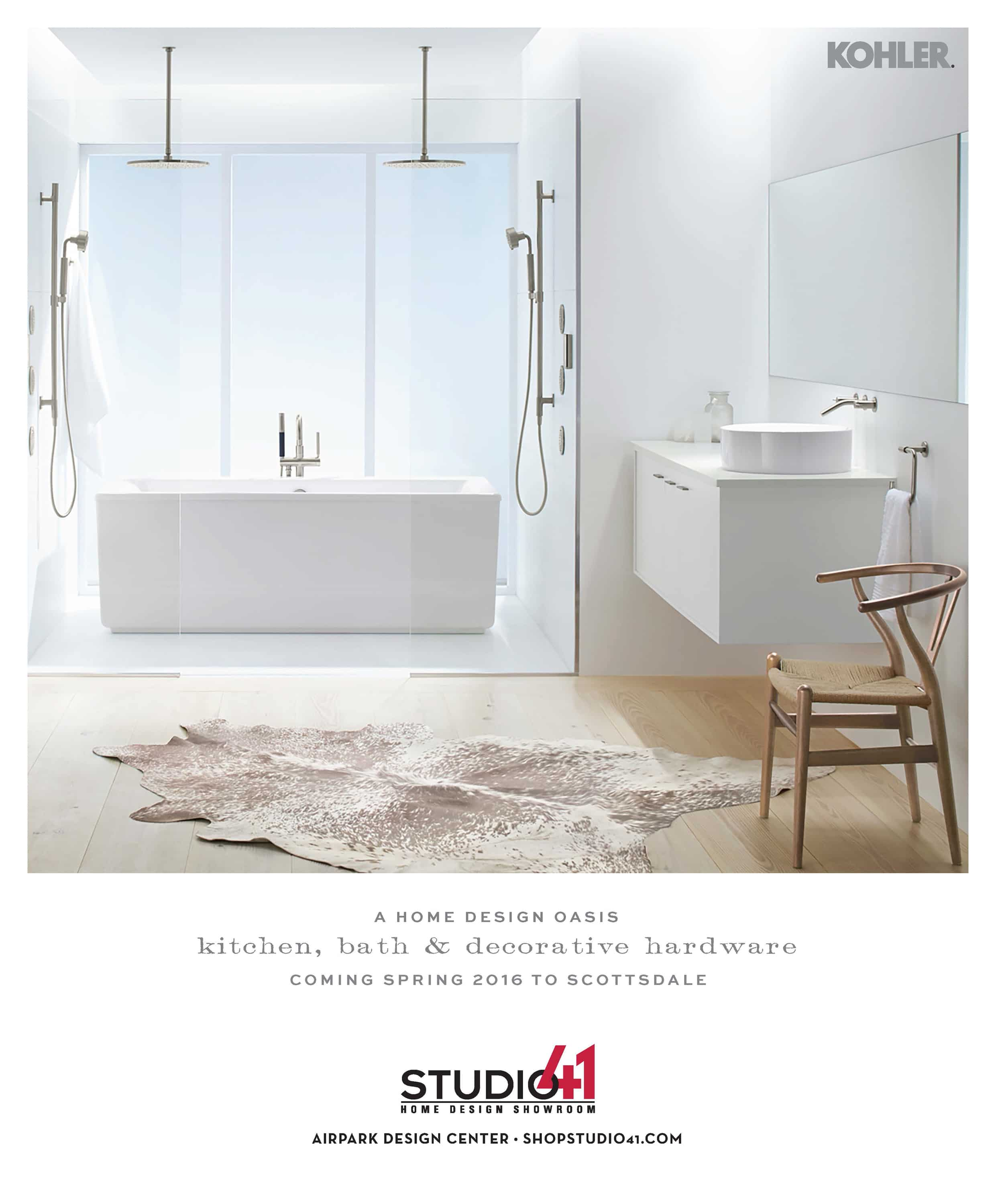 Studio41 Ad for Luxe Magazine in Scottsdale