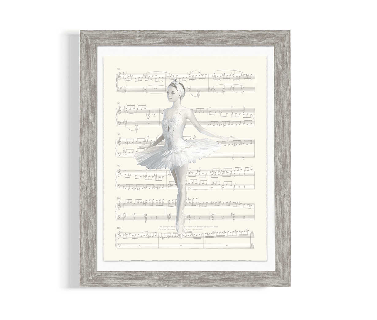 Ballet Nursery Artwork