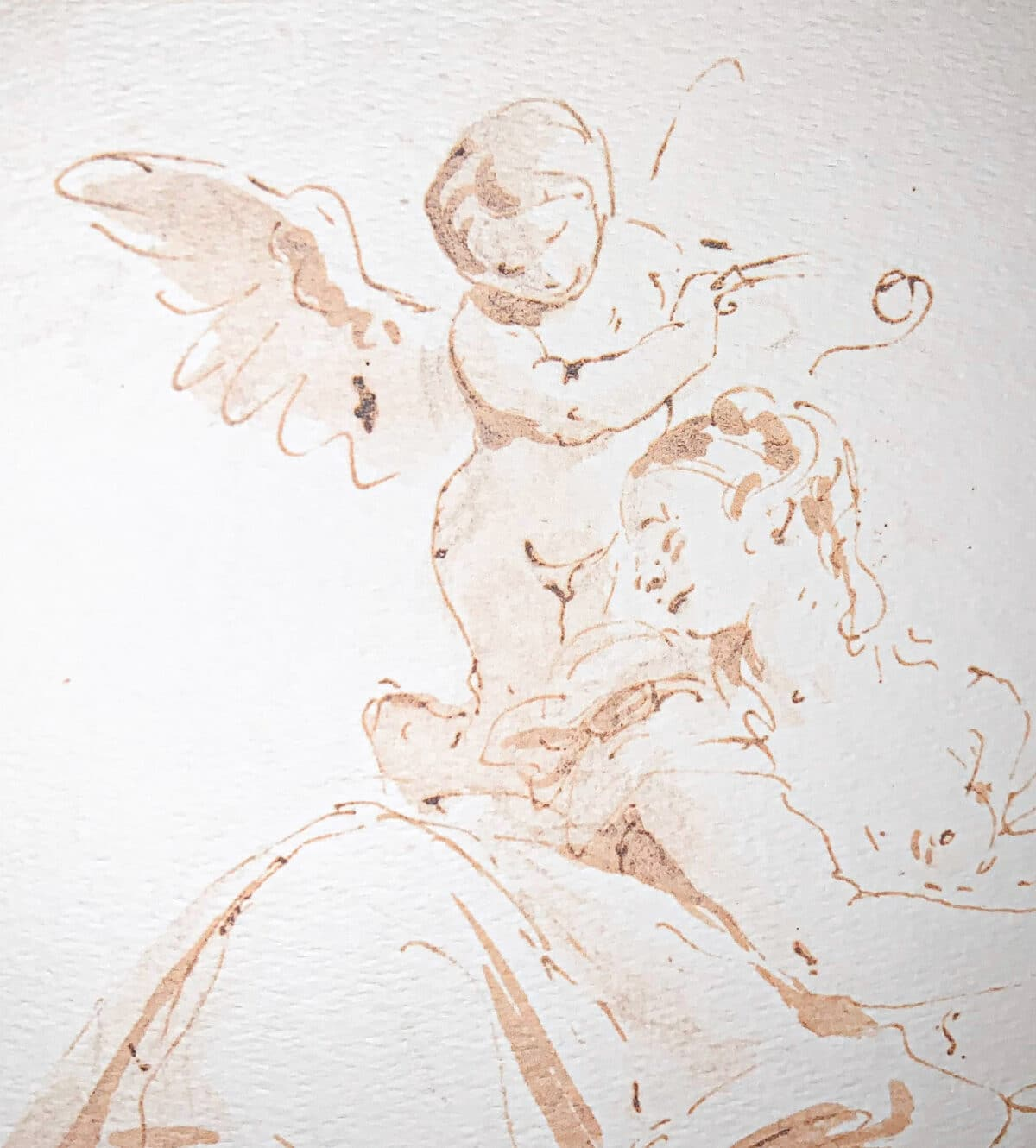 Battista Ink and Wash Drawings